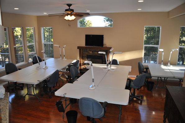 Pineberry Lodge Scrapbooking Retreats Craft Room